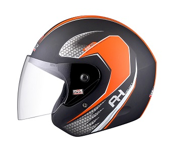 Apex Fit -AH Helmet -Orange-Side View