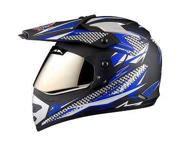 MX-II-Country Racing -Blue -Side View